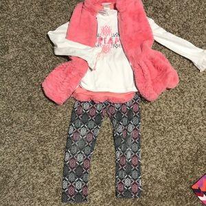 Little Lass Matching Sets - 3 piece set size 6 girls